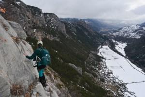 La Falaise, via ferrata de Freissinières, Hautes-Alpes 14