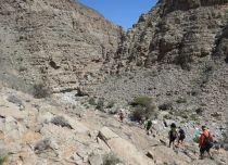 21. vers le Leopard Canyon