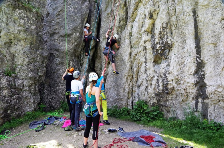 Wspinanie podczas Climbing Day