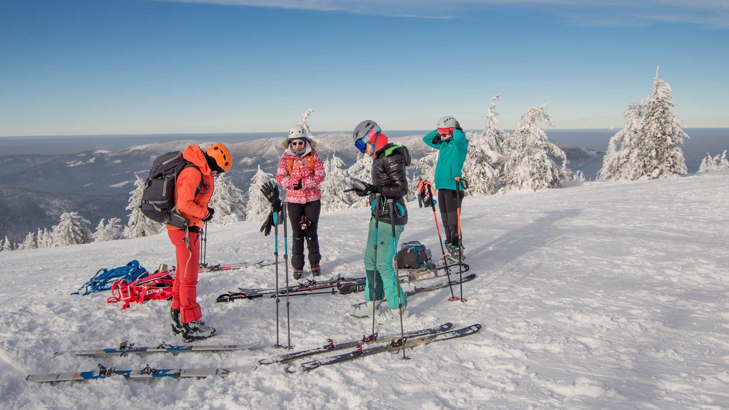 Kurs skiturowy w Beskidach dla początkujacych