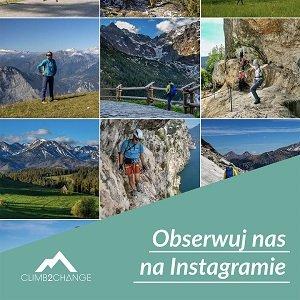 Obserwuj Akademię Wspinania climb2change na instagramie