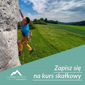 Zapisz się na kurs skałkowy w Akademii Wspinania climb2change