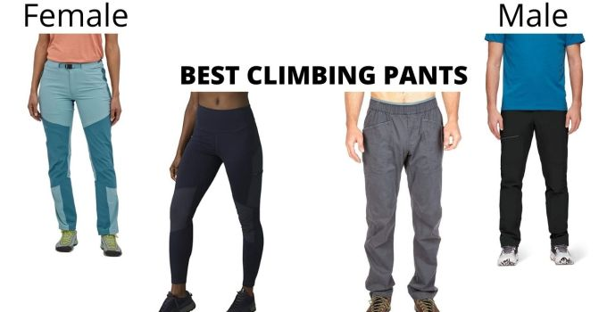 Best Female And Male Climbing Pants In 2021
