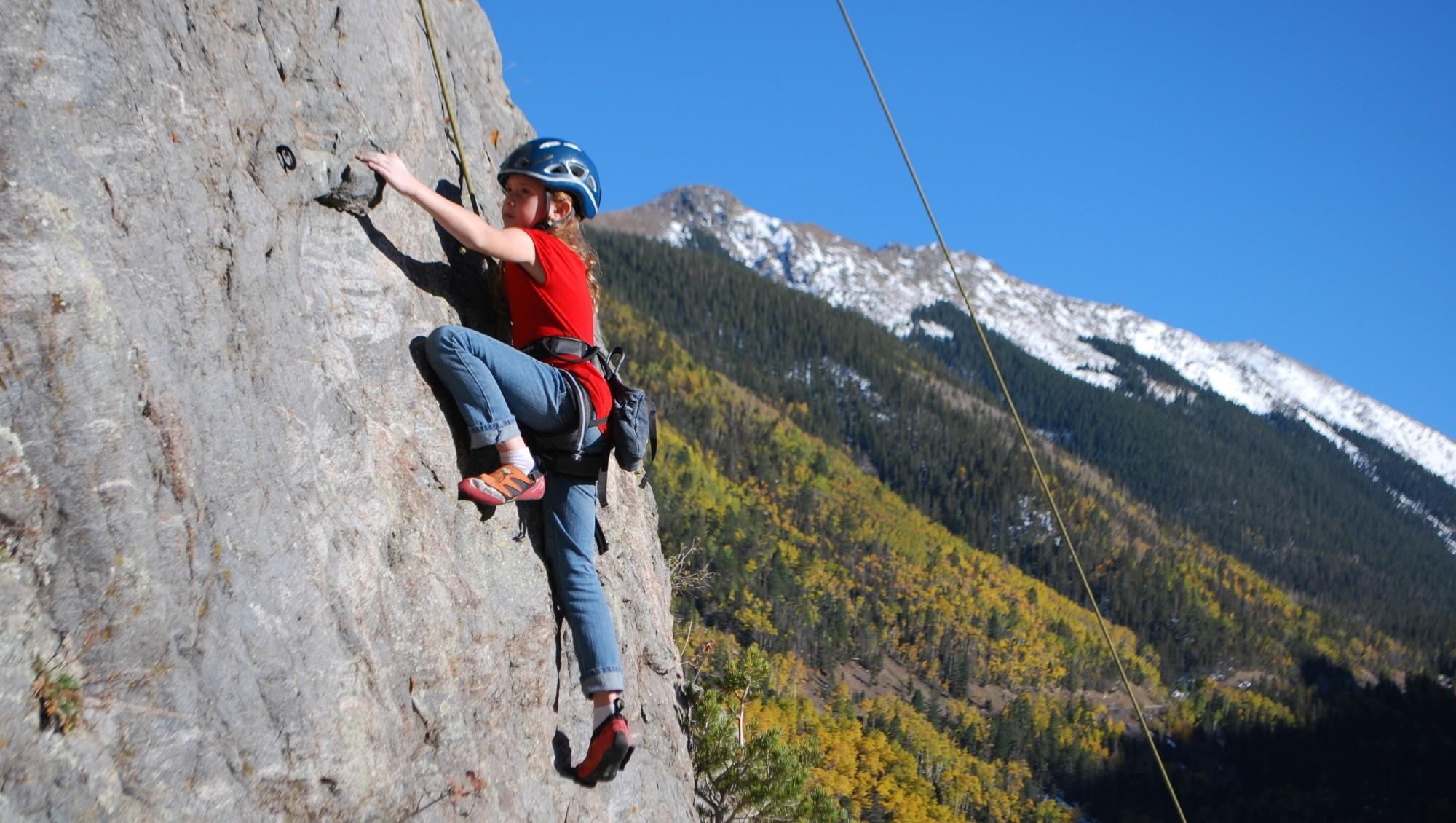 Rock Climb Taos, Nm  Mountain Skills Rock Climbing Adventures