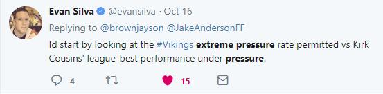 Evan Silva Tweet 1