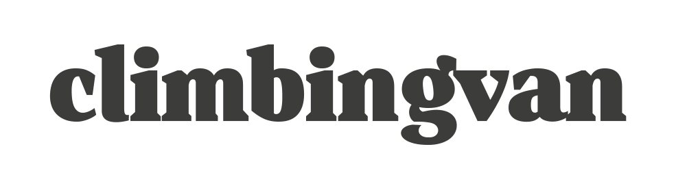 climbingvan text logo