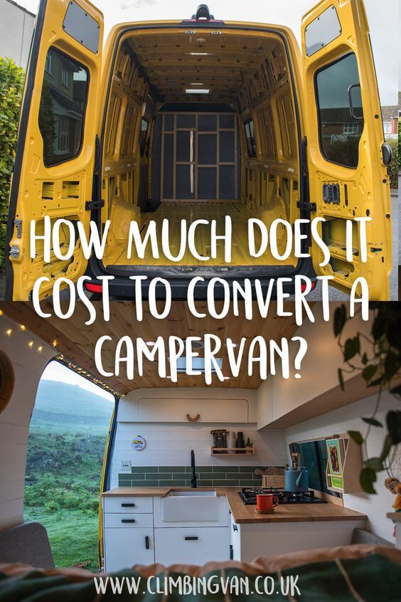 how much does it cost to convert a campervan