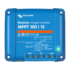 Victron Energy Charge Controller Blue solar MPPT 100-15