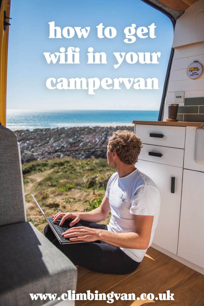how to get wifi in your campervan