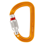 SM'D H-frame carabiner, with tethering hole, Screw Lock