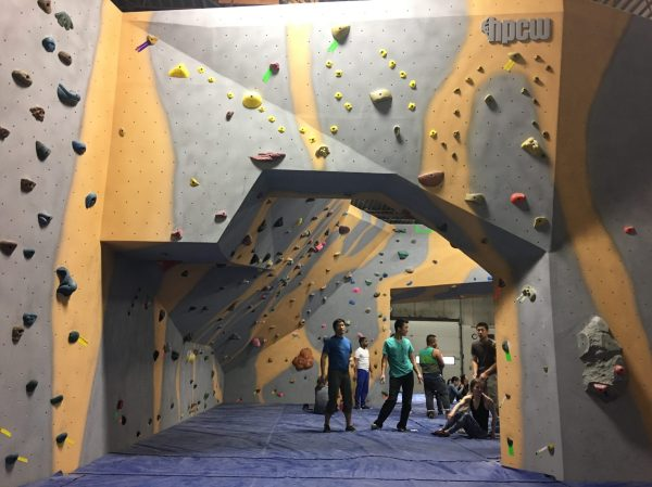 The Climbing Cave Gym