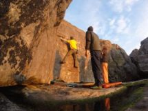 guided bouldering