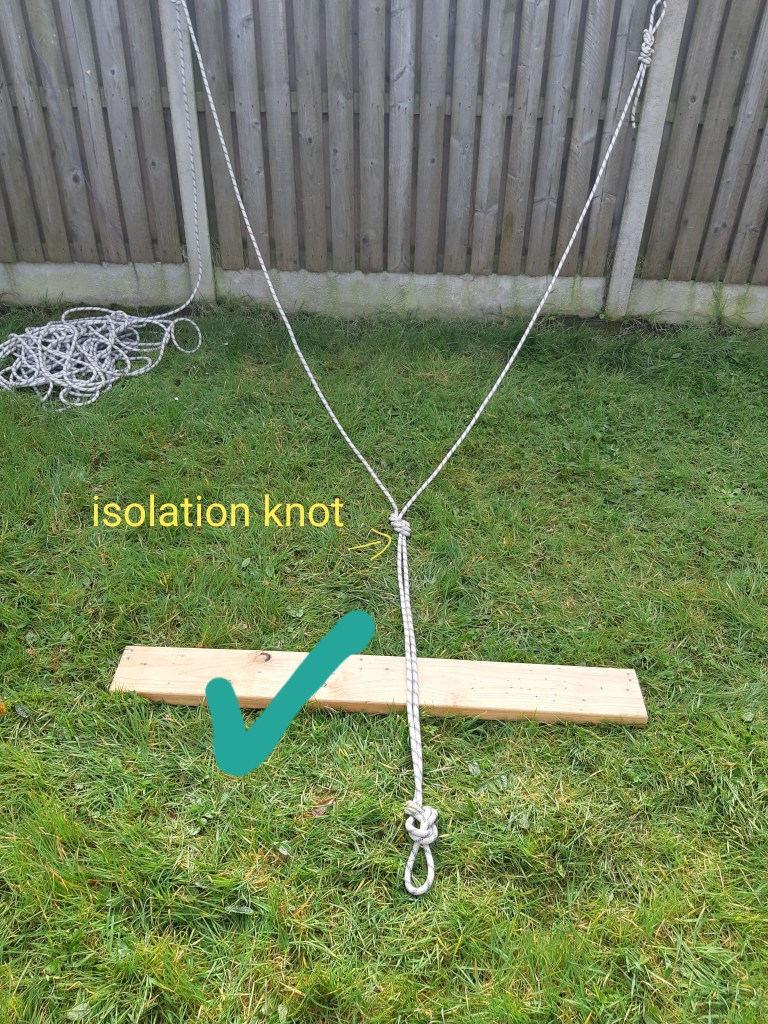 Isolation knot