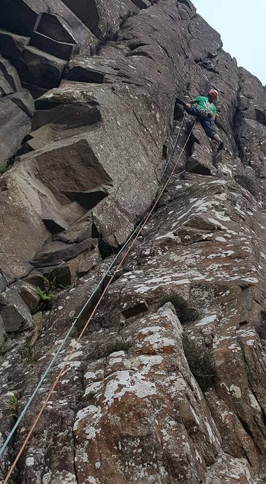 best HVS climbs in Ireland Pangur Bán