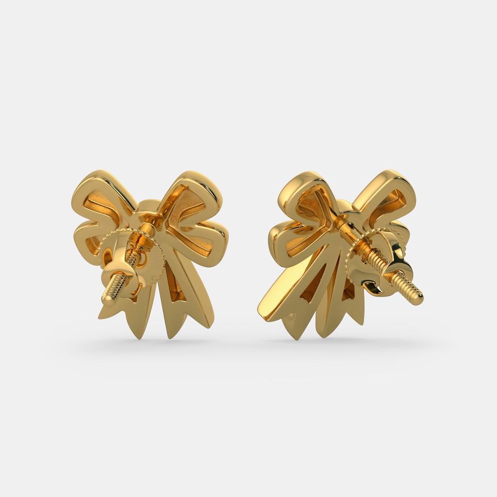 The Lovely Bow Earrings For Kids