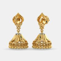 The Ethnic Meenakshi Jhumka | BlueStone.com