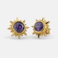 The Crown Chakra Earrings | BlueStone.com