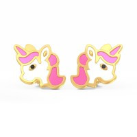 The Magic Unicorn Earrings for Kids | BlueStone.com