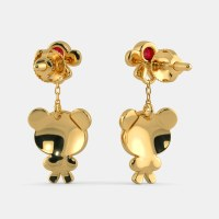 The Adorable Bear Earrings for Kids | BlueStone.com