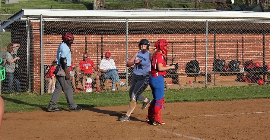 Lady Spartan Carrie Boyd scores game winner