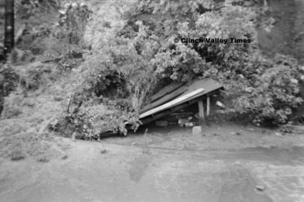 June 24, 1971 (21) mudslide at dugout, Bowman Field