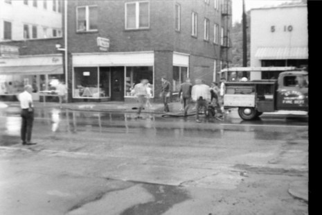 June 24, 1971 (22) pumping water on Fourth Avenue