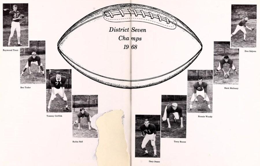 Deacon Football 1969