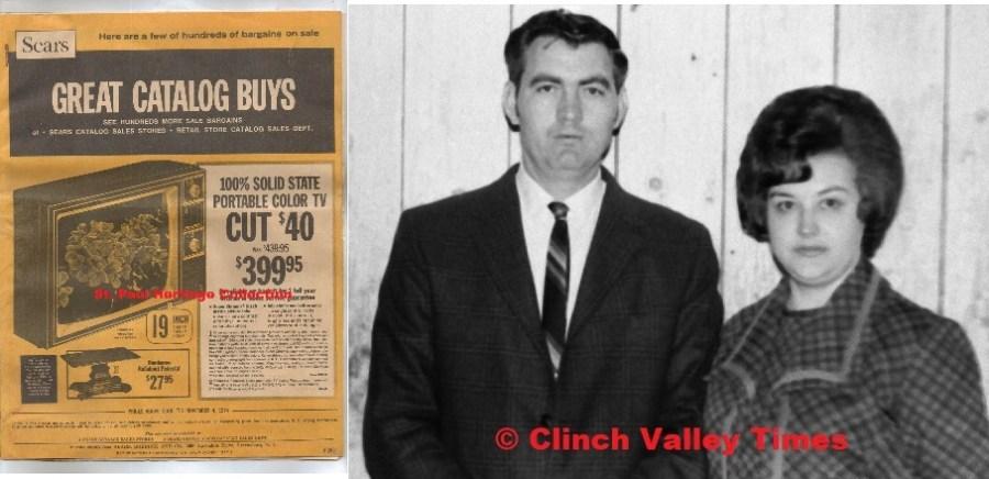 March 25, 1971 Jack & Meldoy Burk, Sears Flyer