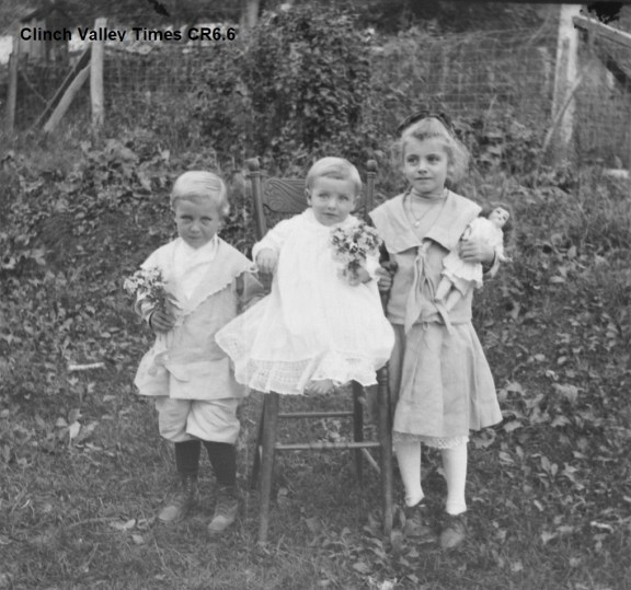 IMG_4808 Three Children with Doll & Flowers CR6.6