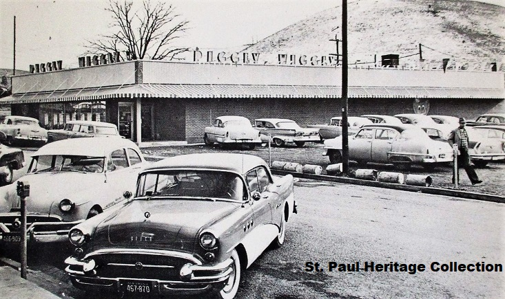 New St. Paul Store - 1958 cropped