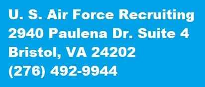 USAF Recruiting Bristol, VA