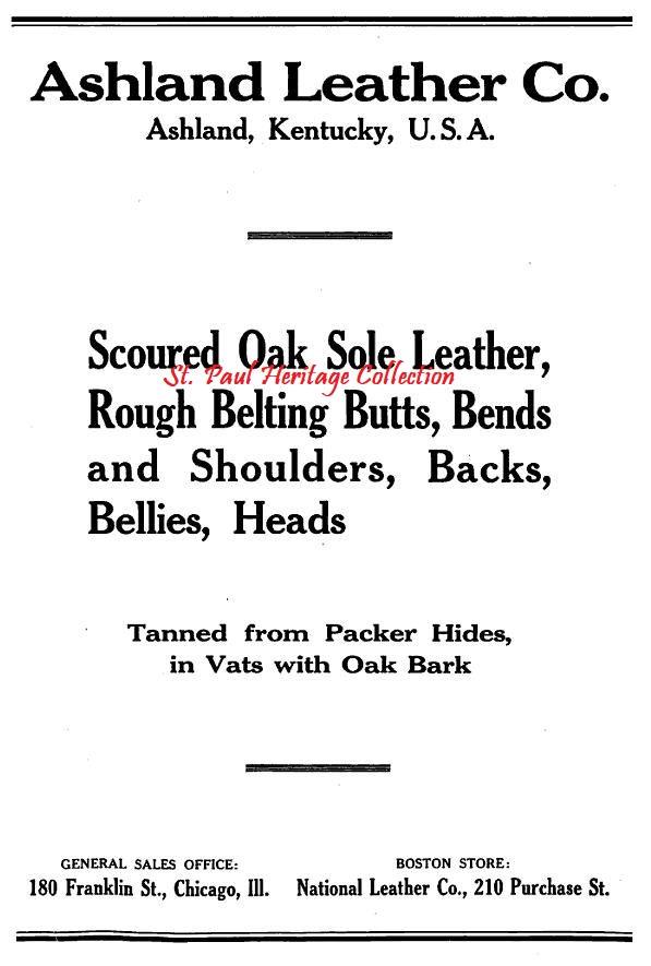Ashland Leather Ad 01