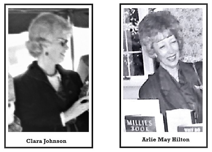 Clara Johnson, Arlie May Hilton