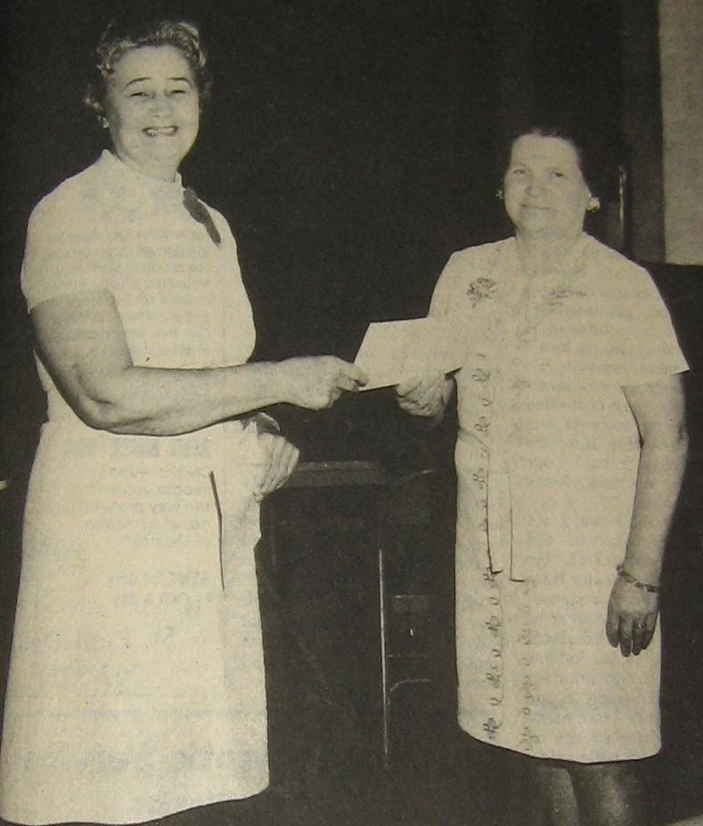 Nell Nordan & Beatrice McInturff 1971