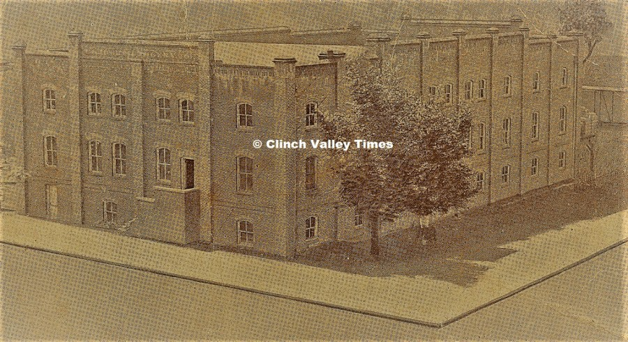Coeburn Grocery 1920's postcard view