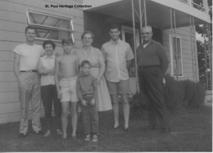 Emmet Morris Lee, June, Jeff, Earnestine, Gary Mitchell, Homer, & Mark