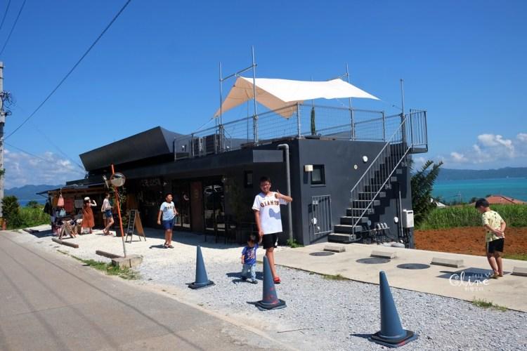 ▌沖繩海景咖啡▌遠挑古宇利大橋❤️~L LOTA咖啡廳