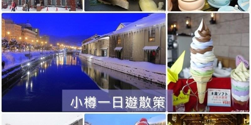 ▌小樽一日遊▌♥北海道小樽必訪景點分享♥小樽運河、小樽堺町通り商店街購物、景點、美食散策