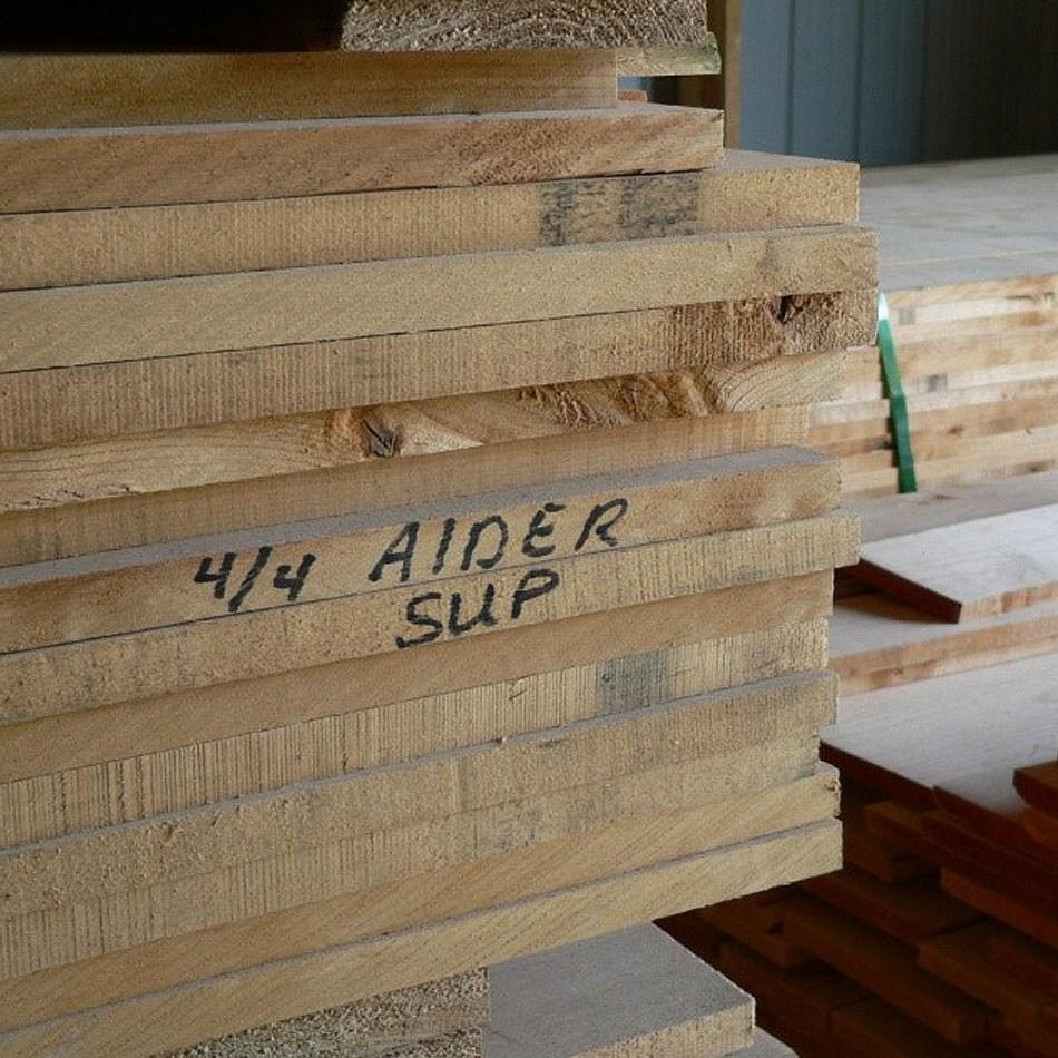 Alder Cline Lumber   Knotty Alder Stair Treads   Hardwood Lumber   Handrail   Railing   Butcher Block   Lumber