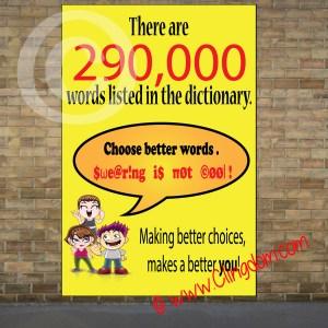 choose better words