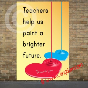 teachers help us paint a brighter future