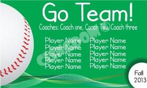 Go-Team-Sport-Baseball-Green