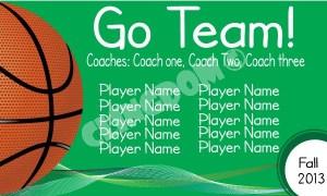 Go-Team-Sport-Basketball-Green