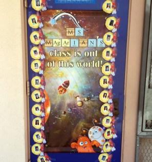 Teacher appreciation door space