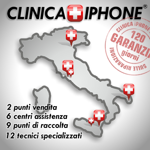 clinica iphone negozi