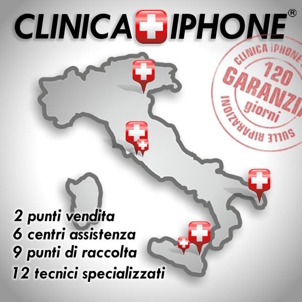 clinica iphone negozi
