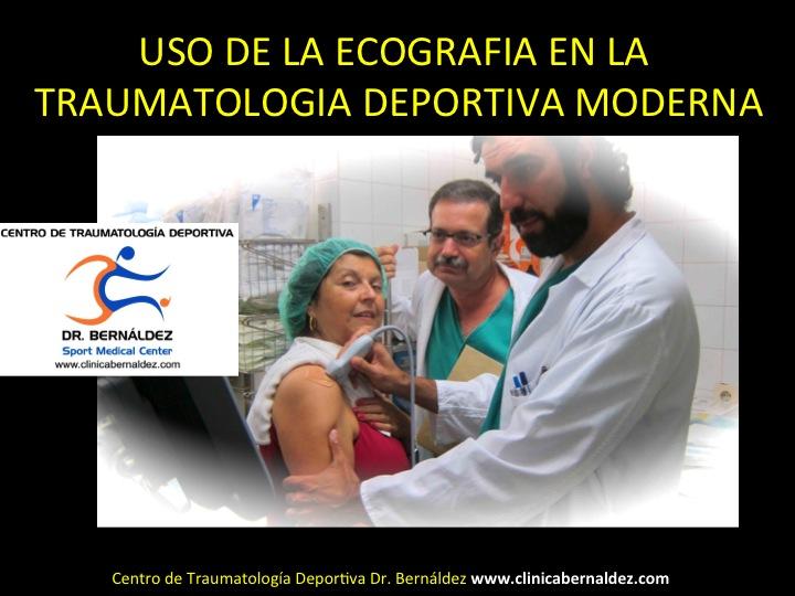 SPORTME ECOGRAFIA www.clinicabernaldez.com
