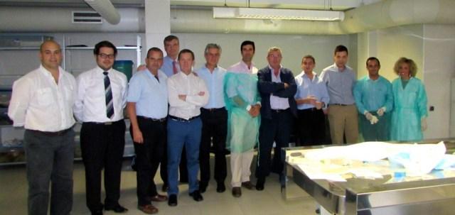 PROFESORES DISECCION HOMBRO CADAVER V CURSO INSTRUCCION HOMBRO Y CODO GRANADA OCT 2014