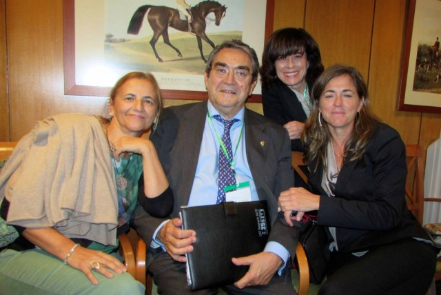 DRS CUADRO, PRADILLA, GARCIA F Y DIAZ 70•º SEMINARIO SATO SEVILLA NOV 2014.