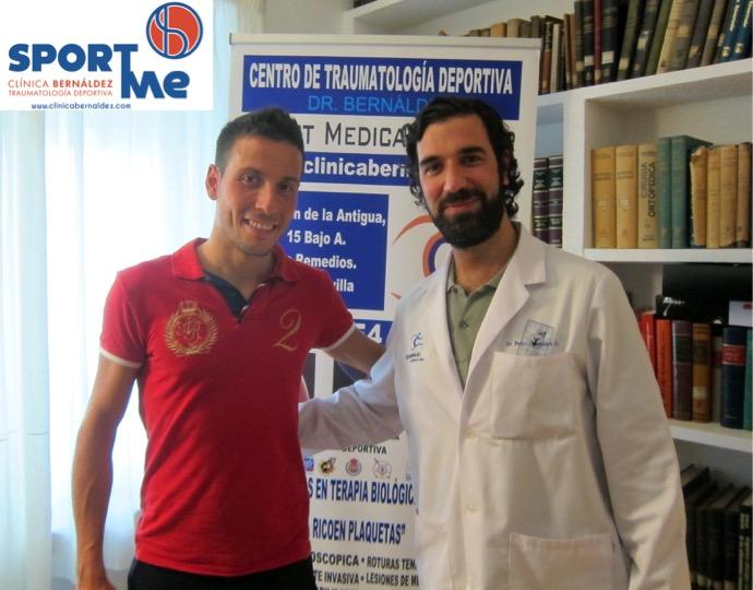 Samer Ali y el Dr Bernáldez